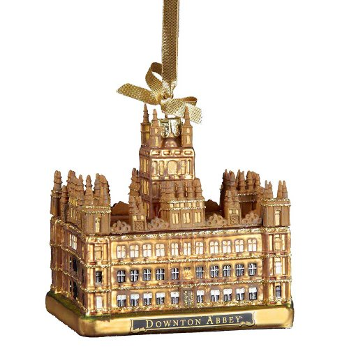 downton abbey christmas gifts - castle ornament