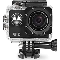 [Elephone Official Store] Originale Elephone ELE CAM Explorer 4K Fotocamera IP68 Ultra HD Sport DV impermeabile Action Camera - Nero