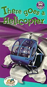 Amazon Com There Goes A Helicopter Vhs Real Wheels