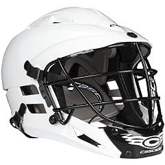 Buy Cascade Lacrosse Boys CS Lacrosse Helmet, White by Cascade Lacrosse