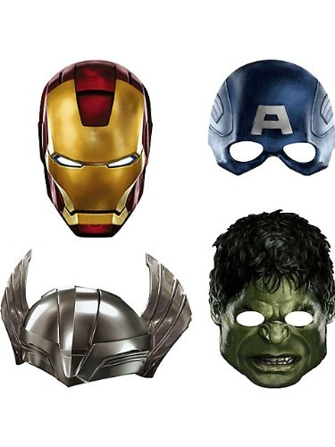 Avengers Paper Masks Child Accessory - 1