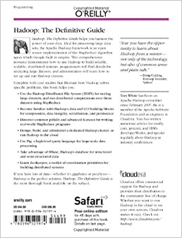 9781491901632 - Hadoop: The Definitive Guide by Tom White