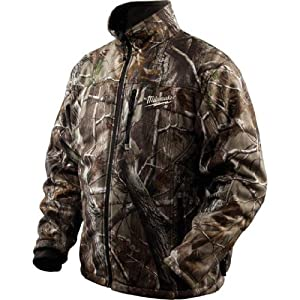 Milwaukee 2333-L M12 12-Volt RealTree AP Heated Jacket, Large by Milwaukee