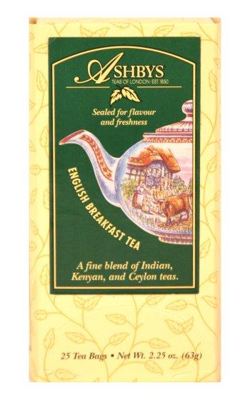 Ashbys English Breakfast Tea, 25 Bags
