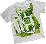 Watercolor Fist -- Green Lantern Movie Adult T-Shirt