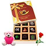 The Royal Delicious Chocolate Treats With Teddy And Rose - Chocholik Luxury Chocolates