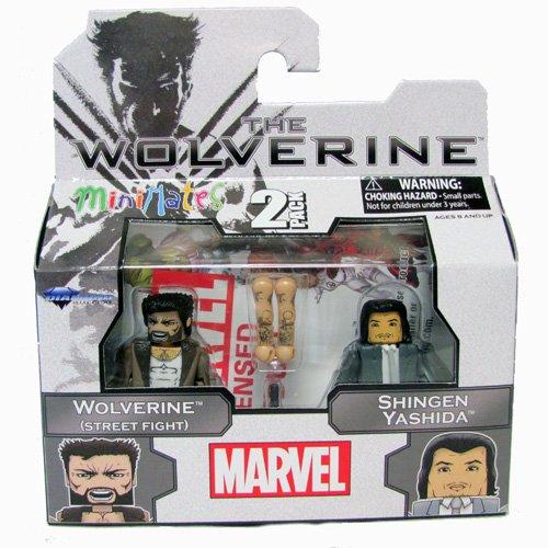 Minimates: The Wolverine (Street Fight) and Shingen Yashida 2-Pack - 1