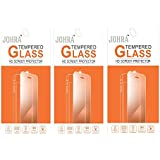 Johra 9H 2.5D Real HD+Tempered Glass Screen Scratch For Xiaomi Mi Max Tempered Glass - Pack Of 3