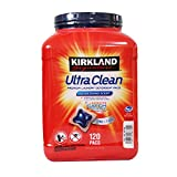 Kirkland Ultra カークランド ウルトラ クリーンランドリーパック 液体洗濯洗剤 120パック