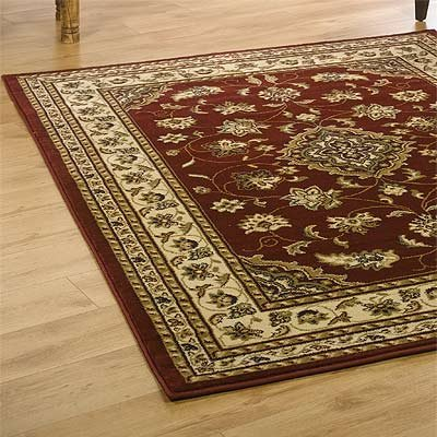 Sincerity Sherborne Rug, Red, 160 x 230 Cm