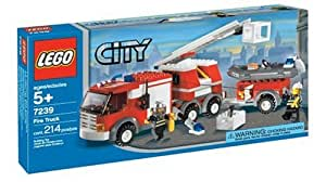 LEGO City Fire Truck (7239)