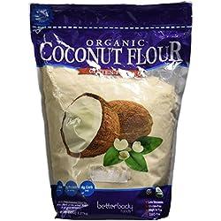 Organic Coconut Flour Gluten-free - Net Wt 5lbs