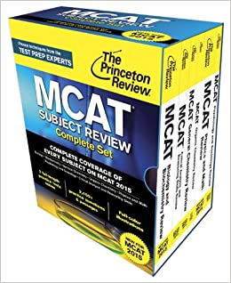 Princeton Review MCAT Subject Review Complete Box Set: New for MCAT