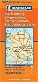 echange, troc Michelin - Allemagne Nord-Est : 1/350 000