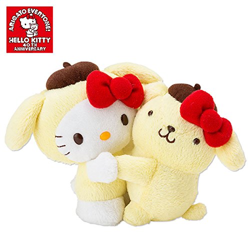 [Pompompurin]40th anniversary of Hello Kitty plush