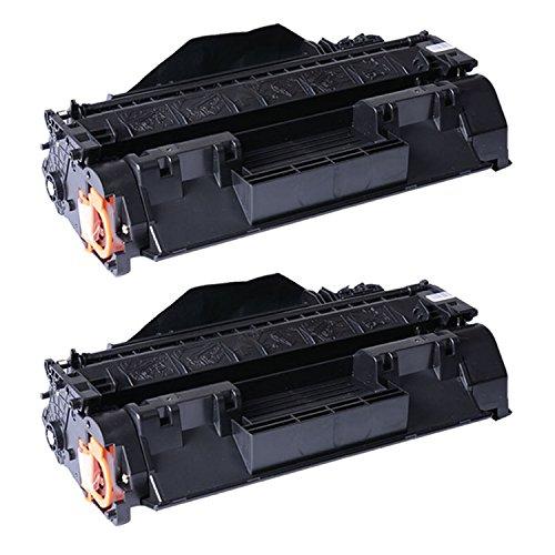 CF280X / 80X Printing Saver kit 2 toner compatibili per HP LaserJet Pro 400 M401A, M401D, M401DN, M401DNE, M401DW, M401N, MFP M425DN, MFP M425DW stampanti