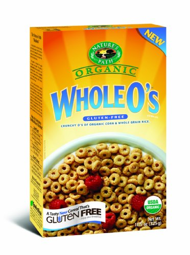 Nature's Path Organic Whole O's, Gluten Free Cereal, 11.5-Ounce Boxes (Pack of 6)