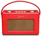 Roberts RD60 Revival DAB/FM RDS Digital Radio - Piano Gloss Red