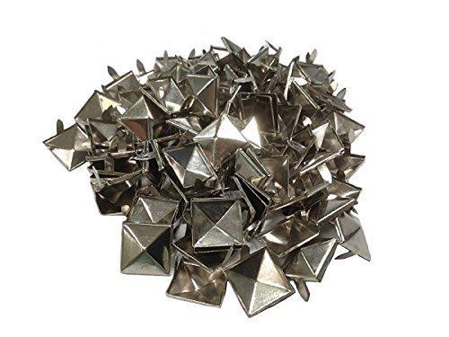 Belt of flats of 100 pieces pyramid studs 15mm wide, wristband, tack Jean production kazenoko original set product KPSTAD (japan import)