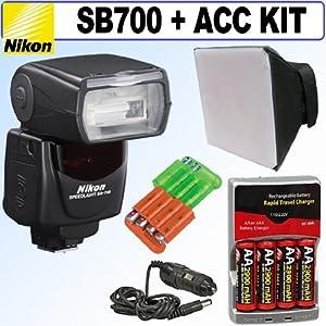 Nikon SB-700 AF Speedlight Flash + Accessory Kit