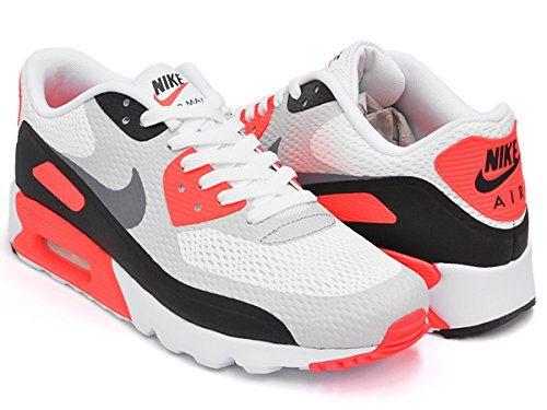(ナイキ) NIKE AIR MAX 90 ULTRA ESSENTIAL [エア マックス 90 ウルトラ エッセンシャル] WHITE / COOL GREY - INFRARED - BLACK 819474-106 26.5(8H)US