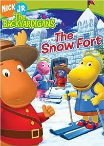 com: The Backyardigans - The Snow Fort: LaShawn Jefferies, Jonah Bobo