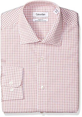Calvin-Klein-Mens-Regular-Fit-Non-Iron-Grid-Check-Shirt