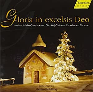 Buy Gloria in Excelsis Deo (Rilling) / CHRISTMAS CHORALES AND CHORUSES Online at Low Prices in ...