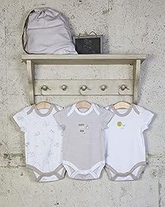 The Essential One - Paquete de 3 Body Bodies para bebé unisex ESS98 marca The Essential One en BebeHogar.com