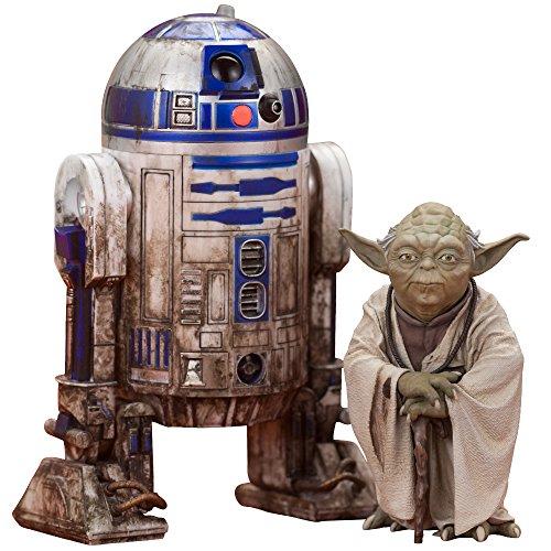 【フィギュア 買取】ARTFX+ ヨーダ & R2-D2 ダゴバパック 「スター・ウォーズ エピソード5/帝国の逆襲」 1/10 PVC塗装済み簡易組立てキット