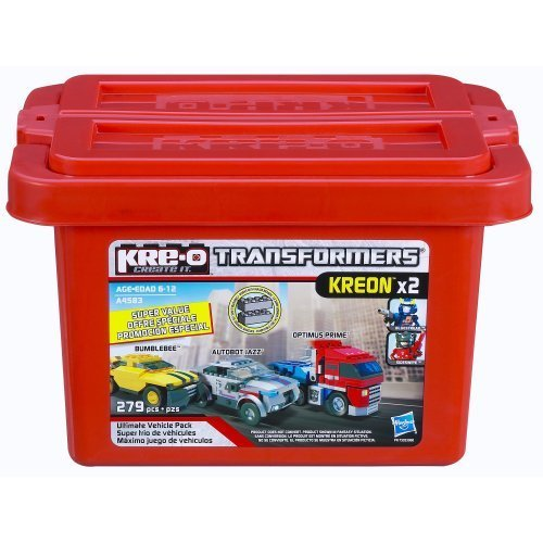 KRE-O Transformers Ultimate Vehicle Pack (A4583) by Kre-o TOY (English Manual)