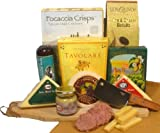 Delight Expressions&trade; Meat N' Cheese Pleaser Gourmet Food Gift Basket - A Great Father's Day Gift Idea