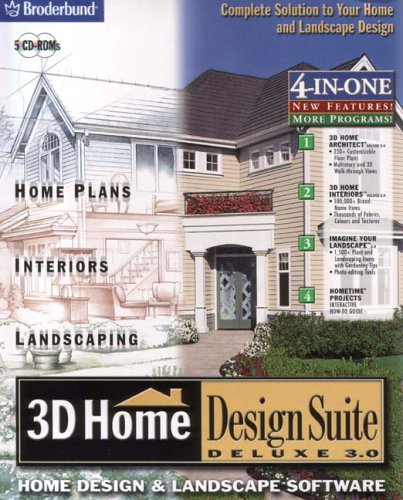 3D Home Design Suite Deluxe 3.0