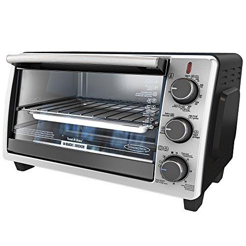 Black & Decker TO1950SBD 6-Slice Toaster Oven, Black (Black Decker 6 Slice compare prices)