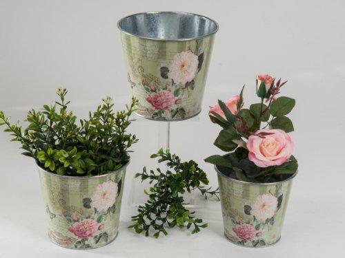 Formano Kübel 3 teillig Blumentopf