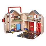 Character Fireman Sam Deluxe Fire Station Playsetby Character Options