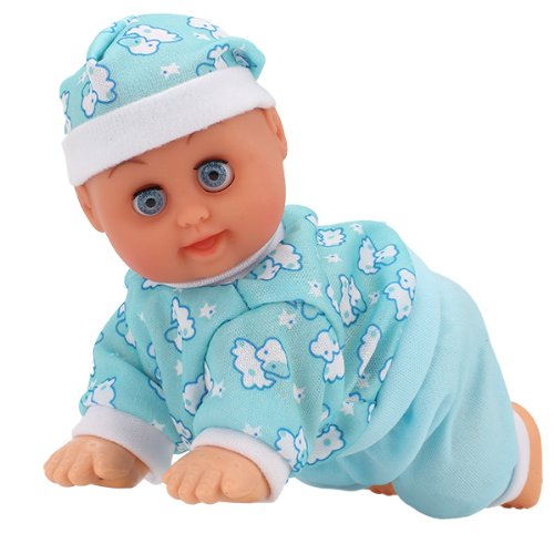 Crawling Baby Electric Doll Clever Baby Toy English Songs Dance For Learn Crawl front-118912