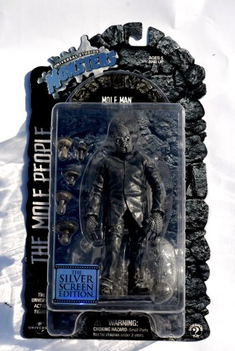 Picture of Sideshow Universal Studios Monsters MOLE MAN - The Mole Pople Universal Studios Classic Monster Silver Screen Edition Action Figure (B0012Y2KJW) (Sideshow Action Figures)