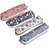 Zcargel Pastorable Canvas Pen Bag Pencil Case, Brand New, Different Colors