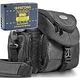 Kit Mantona Premium System Tasche + Bundlestar Akku für CANON LP-E12 Für CANON EOS 100D