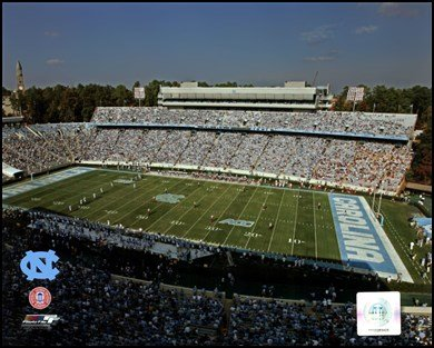 Kenan Stadium, Tarheels 2005 - University of North Carolina Art Poster PRINT Unknown 10x8 ncaa south carolina gamecocks flag with grommets