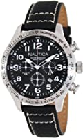 Nautica Men's N17616G BFD 101 CHRONO BOX SET Classic Analog Watch by Nautica