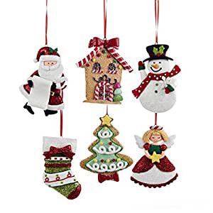 Buy assorted claydough gingerbread christmas tree - Buy christmas decorations online india ...