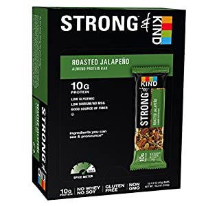 STRONG & KIND Roasted Jalapeno, 1.6 Ounce, 12 Count