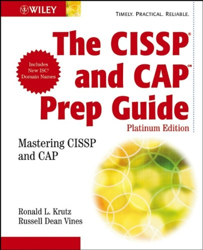 The CISSP and CAP Prep Guide: Platinum Edition (Cap Platinum compare prices)