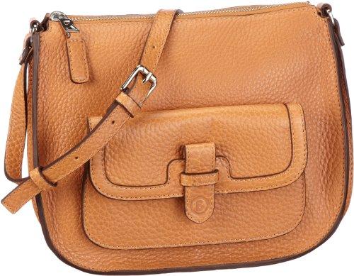 Bogner Leather Seray 1 0402073, Damen Umhängetaschen, Braun (teak 005), 25x20x8 cm (B x H x T)
