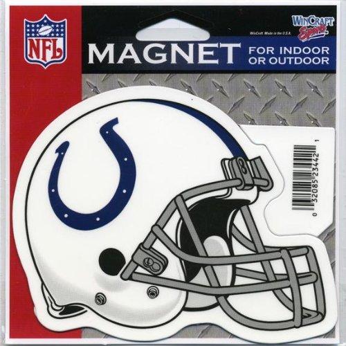 Indianapolis Colts - Helmet Indoor/Outdoor Magnet