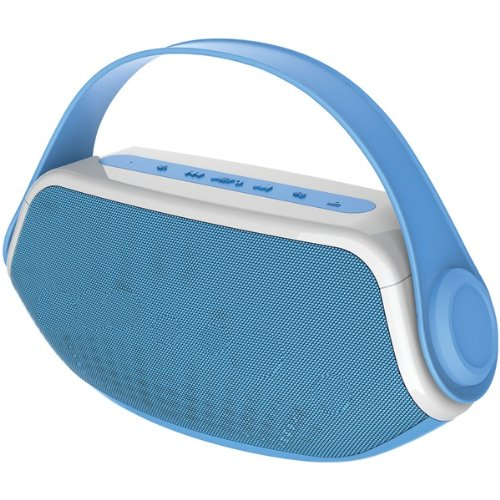 Sylvania Sp233 Blue Bluetooth(R) Boombox (Blue)