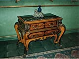 baroque rococo chest of drawers historism antique style MoAl0029, width 110cm
