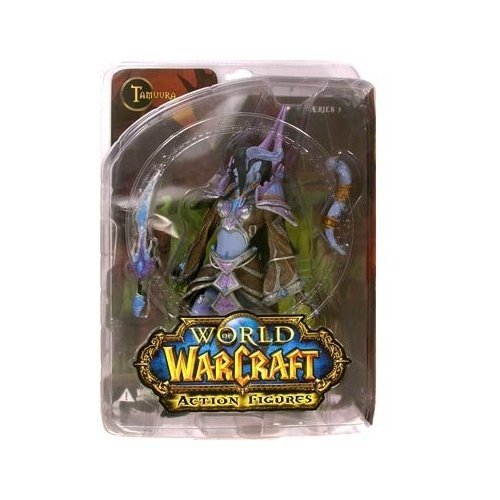 Picture of DC Comics World of Warcraft Series 3 Draenei Mage Action Figure (B0016NEFLA) (DC Comics Action Figures)